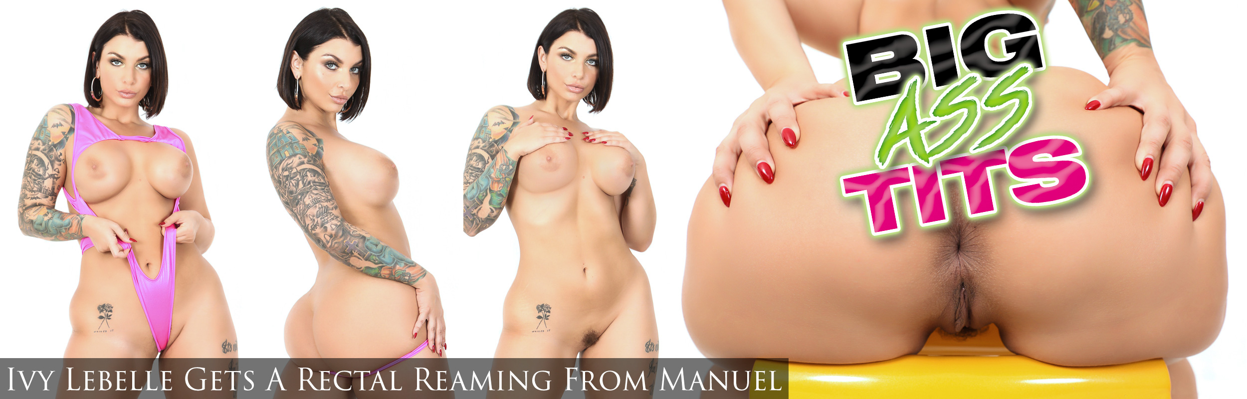 Ivy Lebelle Gets A Rectal Reaming From Manuel